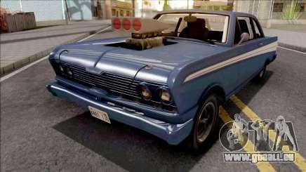 GTA V Vapid Blade Blue für GTA San Andreas