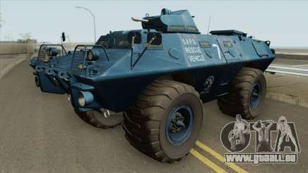 Cadillac V-100 Gage Commando (SAPD) für GTA San Andreas