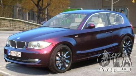BMW 120i V1 pour GTA 4