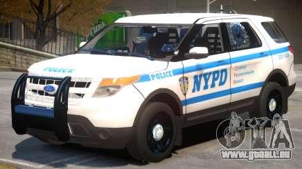 Ford Explorer V1 Police für GTA 4