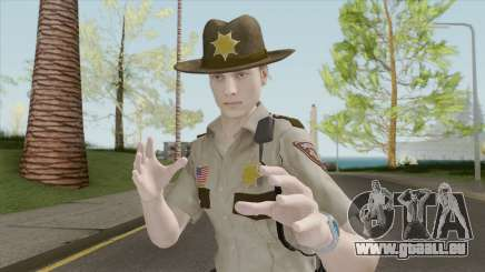Leon Arklay Sheriff (RE2 Remake) für GTA San Andreas