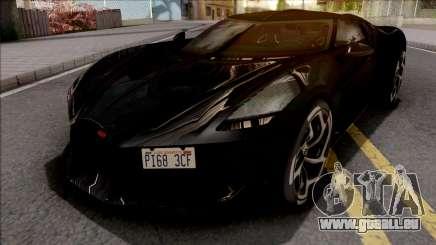 Bugatti La Voiture Noire 2019 Black für GTA San Andreas