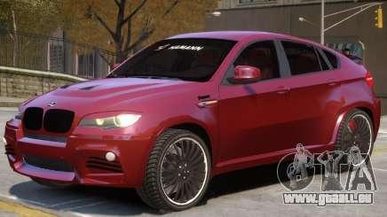 BMW X6 NR pour GTA 4