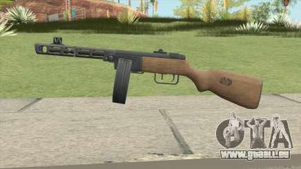 PPSH-41 (A.V.A) pour GTA San Andreas