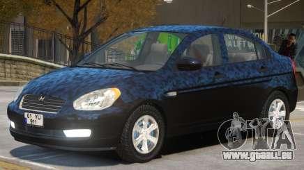 Hyundai Accent Stock für GTA 4
