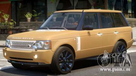 Range Rover Supercharged V1.2 pour GTA 4