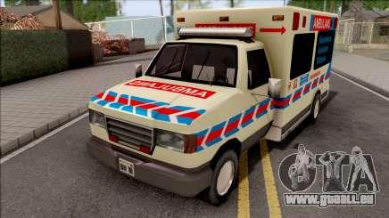 Ambulance Malaysia KKM für GTA San Andreas