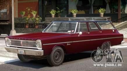 1965 Plymouth Belvedere R1 pour GTA 4