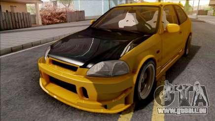 Honda Civic Hatchback Tuned pour GTA San Andreas