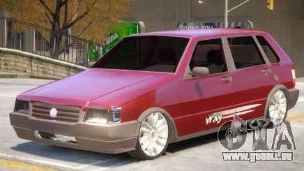 Fiat Uno V1 pour GTA 4