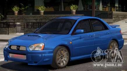 Subaru Impreza WRX Y04 pour GTA 4