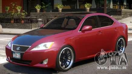 Lexus IS350 R1 pour GTA 4