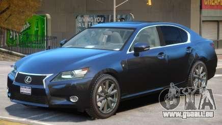 Lexus GS350 Upd pour GTA 4