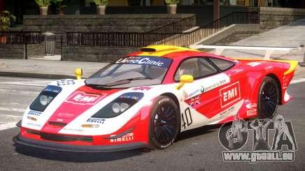 McLaren F1 V1.1 PJ1 pour GTA 4