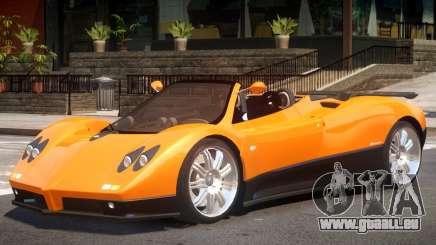 Pagani Zonda Spider pour GTA 4