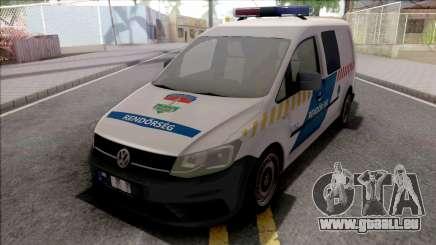 Volkswagen Caddy Magyar Rendorseg für GTA San Andreas