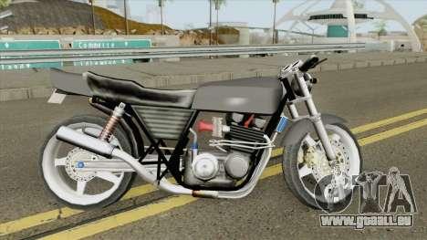 Kawasaki Z400 FX Custom LQ pour GTA San Andreas