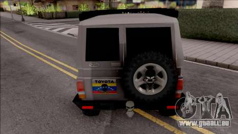 Toyota Land Cruiser 4x4 Off-Road pour GTA San Andreas