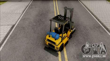 GTA V HVY Forklift IVF Style pour GTA San Andreas