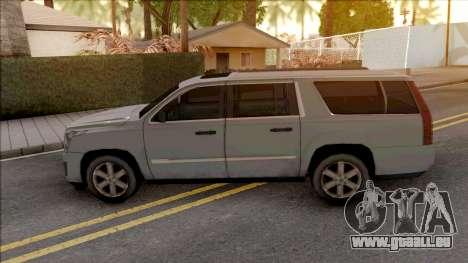 Cadillac Escalade 2016 Lowpoly pour GTA San Andreas