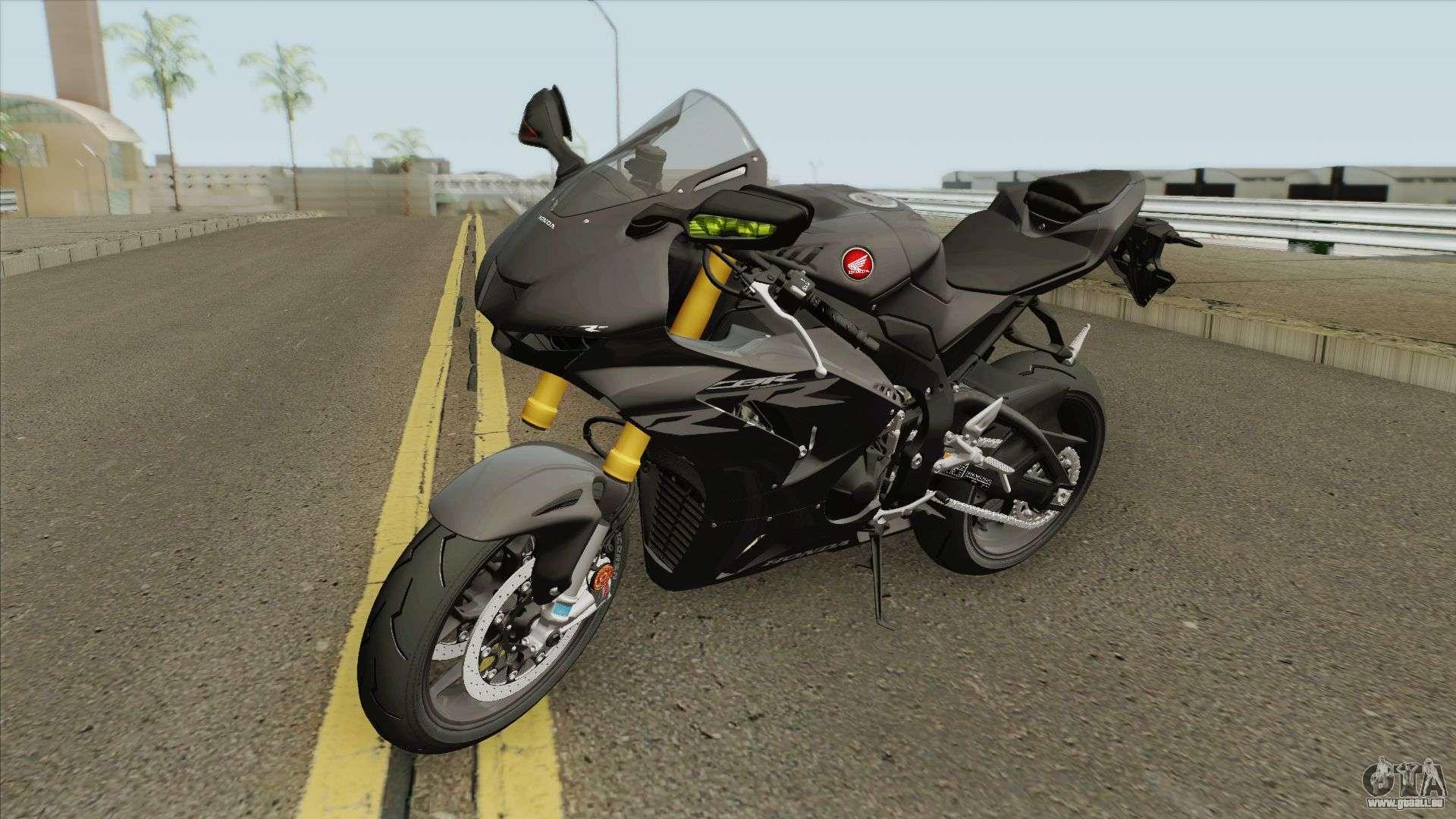 Honda Cbr1000rr R 2020 Black Fur Gta San Andreas