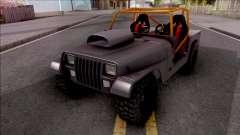 Jeep Wrangler Sand Drag
