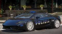 Lambo Gallardo Police für GTA 4