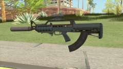 Bullpup Rifle (Complete Upgrade) Old Gen GTA V pour GTA San Andreas