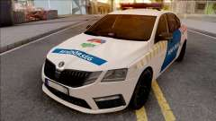 Skoda Octavia 2017 Magyar Rendorseg pour GTA San Andreas