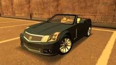 Cadillac XLR-V 2009 pour GTA San Andreas