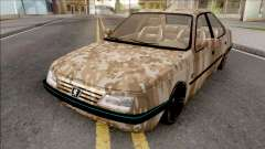 Peugeot 405 Army für GTA San Andreas