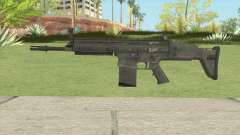 SCAR-H Black pour GTA San Andreas