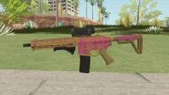 Carbine Rifle GTA V (Leopardo Rosa) für GTA San Andreas