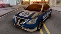 Nissan Versa 2019 Policia Federal Mexicana pour GTA San Andreas
