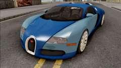 Bugatti Veyron Standart Interior pour GTA San Andreas