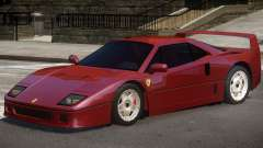 1987 Ferrari F40 pour GTA 4