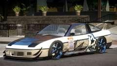 Nissan 240SX V1 PJ für GTA 4