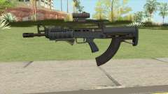 Bullpup Rifle (Three Upgrades V2) Old Gen GTA V für GTA San Andreas