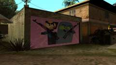New CJ House Garage Master From and Brock pour GTA San Andreas