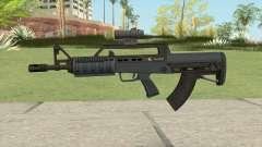 Bullpup Rifle (Scope V1) Old Gen Tint GTA V pour GTA San Andreas