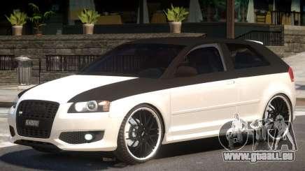 Audi S3 Tuned pour GTA 4