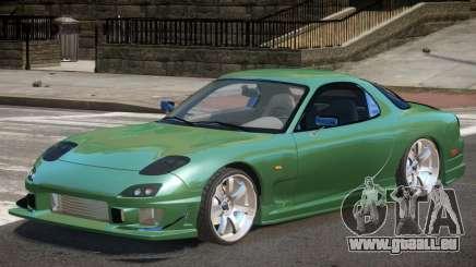 Mazda RX-7 Custom V1.0 pour GTA 4