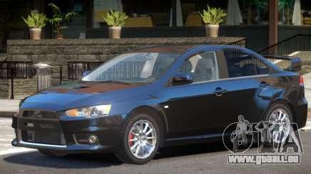 Mitsubishi Lancer X V1 pour GTA 4