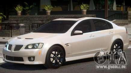 Pontiac G8 GXP V1 pour GTA 4