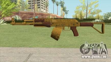 Assault Rifle GTA V Flashlight (Box Clip) pour GTA San Andreas
