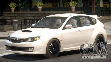 Subaru Impreza WRX STi Y9 pour GTA 4