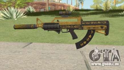 Bullpup Rifle (Three Upgrade V4) Main Tint GTA V für GTA San Andreas