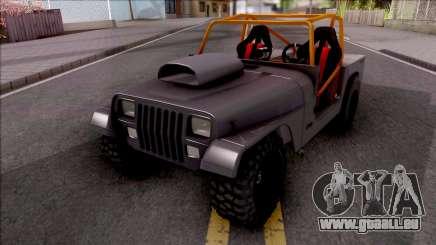 Jeep Wrangler Sand Drag für GTA San Andreas