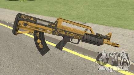 Bullpup Rifle (Flashlight V1) Main Tint GTA V für GTA San Andreas