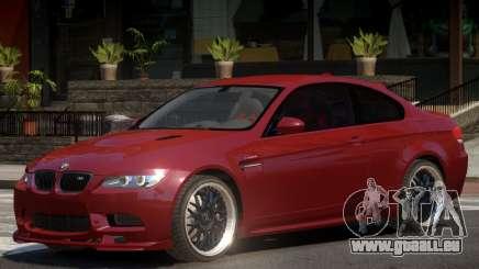 BMW M3 E92 Custom pour GTA 4
